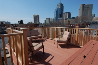Boston South End Penthouse Private Roof Deck
